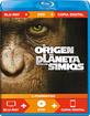 El origen del planeta de los simios (Blu-ray + DVD + Digital Copy) (ES Import) Blu-ray