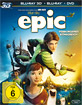 Epic - Verborgenes Königreich 3D (Blu-ray 3D + Blu-ray + DVD) Blu-ray