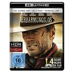 Erbarmungslos (1992) 4K (4K UHD + Blu-Ray + UV Copy) Blu-ray