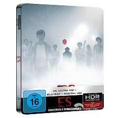 Es (2017) 4K (Limited Steelbook Edition) (4K UHD + Blu-ray + UV Copy) Blu-ray