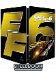 Fast & Furious 6 - Alternative Car Steelbook (IT Import ohne dt. Ton) Blu-ray