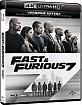 Fast & Furious 7 4K (4K UHD + Blu-ray + UV Copy) (IT Import) Blu-ray