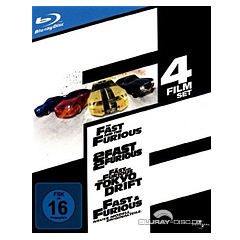 The Fast and the Furious (1-4) - The Collection Blu-ray