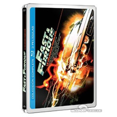 Fast & Furious (1-5) La Coleccion Completa - Steelbook (ES Import) Blu-ray