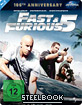 Fast & Furious Five (100th Anniversary Steelbook Collection) Blu-ray