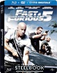 Fast & Furious 5 - Steelbook (Blu-ray + DVD + Digital Copy) (FR Import) Blu-ray