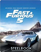 Fast & Furious Five - Zavvi Exclusive Limited Edition Steelbook (Blu-ray + UV Copy) (UK Import ohne dt. Ton) Blu-ray