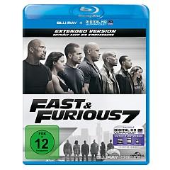 Fast & Furious 7 - Kinofassung und Extended Cut (Blu-ray + UV Copy) Blu-ray