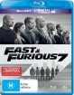 Fast & Furious 7 - Theatrical and Extended (Blu-ray + UV Copy) (AU Import) Blu-ray