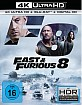Fast & Furious 8 4K (4K UHD + Blu-ray + UV Copy) Blu-ray