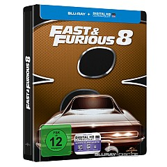 fast furious 8 blu ray fast furious 8 limited steelbook edition cover b blu ray uv. Black Bedroom Furniture Sets. Home Design Ideas