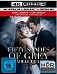 Fifty Shades of Grey - Gefährliche Liebe 4K (4K UHD + Blu-ray + UV Copy) Blu-ray
