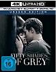 Fifty Shades of Grey - Geheimes Verlangen 4K (4K UHD + Blu-ray + UV Copy) Blu-ray