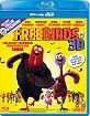 Free Birds - Esst uns an einem anderen Tag 3D (Blu-ray 3D) (CH Import) Blu-ray