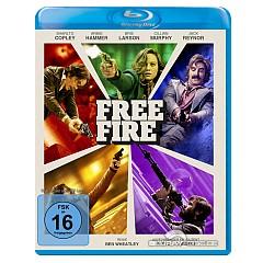 Free Fire (2017) Blu-ray