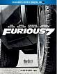 Furious 7 (2015) (Blu-ray + DVD + Digital Copy + UV Copy) (US Import ohne dt. Ton) Blu-ray