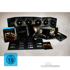Game of Thrones: Die komplette zweite Staffel (Limited Pin Edition) Blu-ray