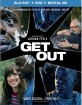 Get Out (2017) (Blu-ray + DVD + UV Copy) (US Import ohne dt. Ton) Blu-ray