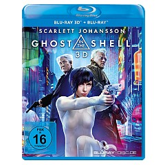 Ghost in the Shell (2017) 3D (Blu-ray 3D + Blu-ray) Blu-ray