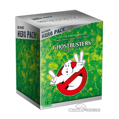 Ghostbusters 1 & 2 - Ultimate Hero Pack Limited Deluxe Edition Blu-ray