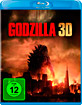 Godzilla (2014) 3D (Blu-ray 3D + Blu-ray + UV Copy) Blu-ray