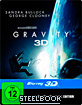 Gravity (2013) 3D - Limited Steelbook Edition (Blu-ray 3D + Blu-ray + UV Copy) Blu-ray