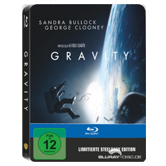 Gravity (2013) - Limited Edition Steelbook (Blu-ray + UV Copy) Blu-ray