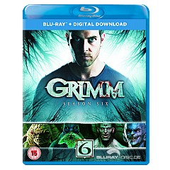 Grimm: Season Six (Blu-ray + UV Copy) (UK Import ohne dt. Ton) Blu-ray
