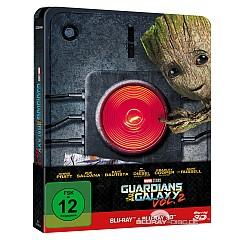 Guardians of the Galaxy Vol. 2 3D (Limited Steelbook Edition) (Blu-ray 3D + Blu-ray) Blu-ray