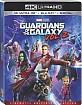 Guardians of the Galaxy Vol. 2 4K (4K UHD + Blu-ray + UV Copy) (US Import) Blu-ray