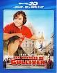 Les Voyages de Gulliver (2010) 3D (Blu-ray 3D + Blu-ray + DVD + Digitial Copy)(FR Import) Blu-ray