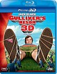 Gullivers resor (2010) 3D (Blu-ray 3D + Blu-ray) (SE Import ohne dt. Ton) Blu-ray