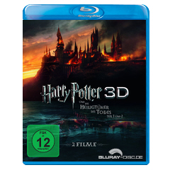 Harry Potter und die Heiligtümer des Todes - Teil 1 und 2 3D (Blu-ray 3D) (Neuauflage) Blu-ray