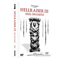 Hellraiser 3: Hell on Earth - Unrated (Limited White Edition) Blu-ray
