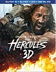 Hercules 3D (2014) - Theatrical and Extended Cut (Blu-ray 3D + Blu-ray + DVD + UV Copy) (US Import ohne dt. Ton) Blu-ray