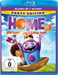 Home - Ein smektakulärer Trip 3D (Party Edition) (Blu-ray 3D + Blu-ray) (Neuauflage) Blu-ray