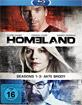Homeland: Die komplette erste - dritte Staffel (Akte Brody) Blu-ray