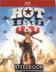 Hot Shots! 1+2 - Steelbook (Double Feature) (FR Import) Blu-ray