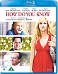 How do you know (DK Import) Blu-ray
