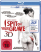 I Spit on Your Grave (2010) 3D (stark geschnittene Fassung) (Blu-ray 3D) Blu-ray