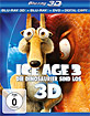 Ice Age 3 - Die Dinosaurier sind los 3D (Blu-ray 3D + Blu-ray + DVD + Digital Copy) Blu-ray