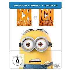 Ich - Einfach unverbesserlich 1+2 3D - Limited Steelbook Edition (Doppelset) (Blu-ray 3D) Blu-ray
