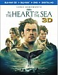 In the Heart of the Sea 3D (Blu-ray 3D + Blu-ray + DVD + UV Copy) (US Import ohne dt. Ton) Blu-ray