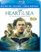 Heart Of The Sea: Le Origini Di Moby Dick 3D (Blu-ray 3D + Blu-ray +  Digital Copy) (IT Import ohne dt. Ton) Blu-ray