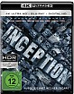 Inception 4K (4K UHD + Blu-ray + Bonus Blu-ray + UV Copy) Blu-ray