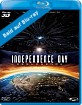 Independence Day: Rigenerazione 3D (Blu-ray 3D + Blu-ray) (IT Import ohne dt. Ton) Blu-ray