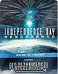Den nezávislosti : Nový útok 3D - Steelbook (Blu-ray 3D + Blu-ray) (CZ Import ohne dt. Ton) Blu-ray