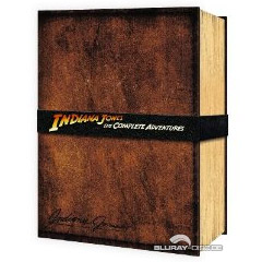 Indiana Jones - The Complete Adventures: Limited Edition Collector's Set (UK Import) Blu-ray