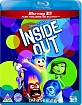 Inside Out (2015) 3D (Blu-ray 3D + Blu-ray) (UK Import ohne dt. Ton) Blu-ray