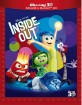 Inside Out (2015) 3D (Blu-ray 3D + Blu-ray) (IT Import ohne dt. Ton) Blu-ray